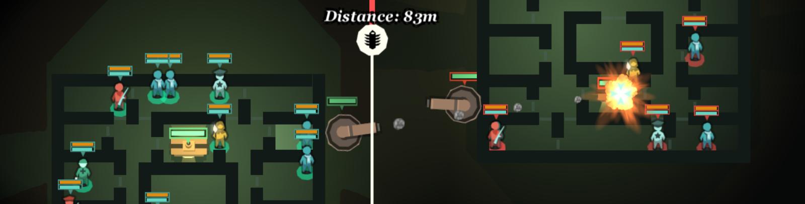 Tense turn-based combat